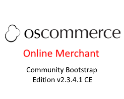 osCommerce Online Merchant Community Bootstrap Edition